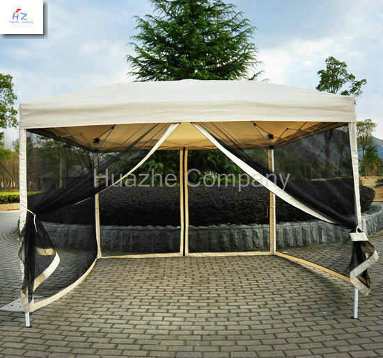 2.5X2.5m Canopy with Net, Hot Seel Tent with Mosquito Net, Good Quality, Gazebo with Mosquito Net pictures & photos