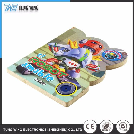 China Funny Sound Board Book with Customer′s Design - China