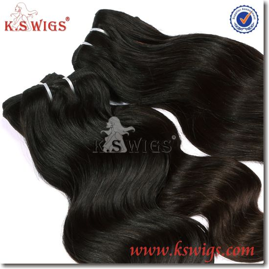100% Human Hair Brazilian Raw Virgin Remy Hair pictures & photos
