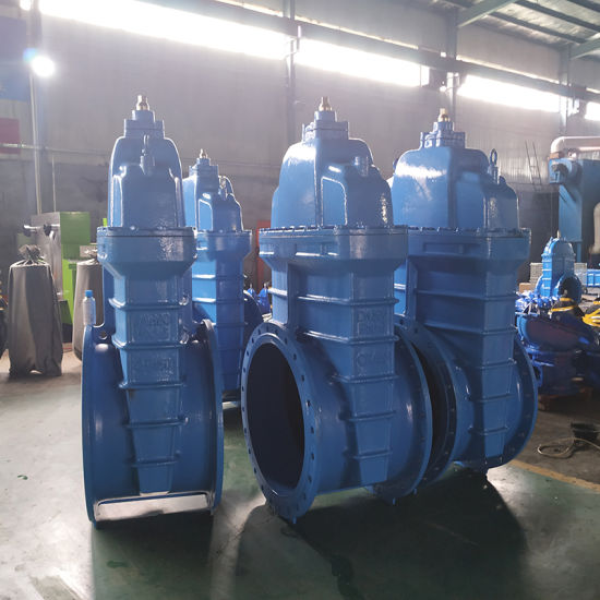 Ce ISO Approved F4 Non-Rising Stem Ductile Iron Soft Seated 4 Inch Gate Valve