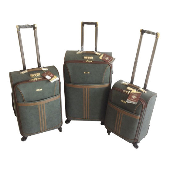 PU Leather Bags Trolley Case Luggage Jb-D009 pictures & photos