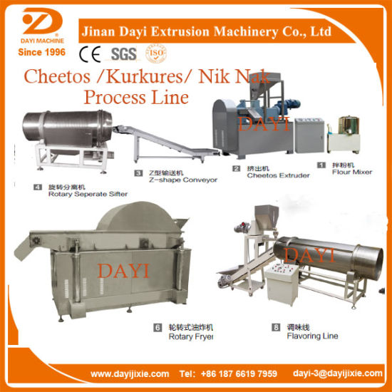 Ce Popular Kurkure Snacks Food Machinery pictures & photos