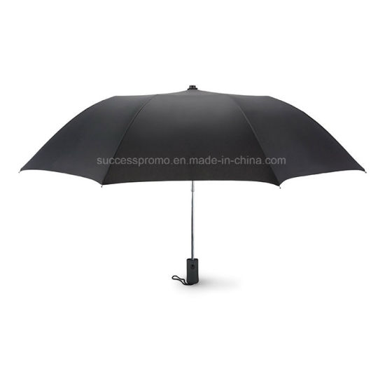 21 Inch Auto Open 2 Fold Umbrella in 190t Pongee