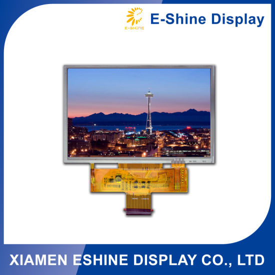 Touch Screen 5 Inch TFT Resolution 240 X 128 LCM LCD Module with Capacitive pictures & photos