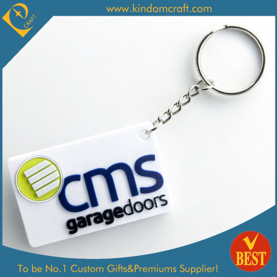 Wholesale Customized Brand Promotional Rubber PVC Key Chain From China in High Quality pictures & photos