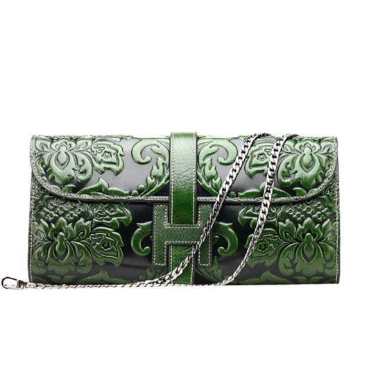 China Manufacturer Custom Handmade Leather Purses Wallets for Women pictures & photos
