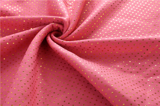 Polyester Warp Knitting Short Plush Single-Sided Velvet Bronzing FDY Imitation Filament Flannel Home Textile