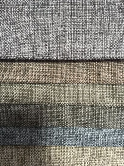 100 Polyester Fake Linen Sofa Fabric