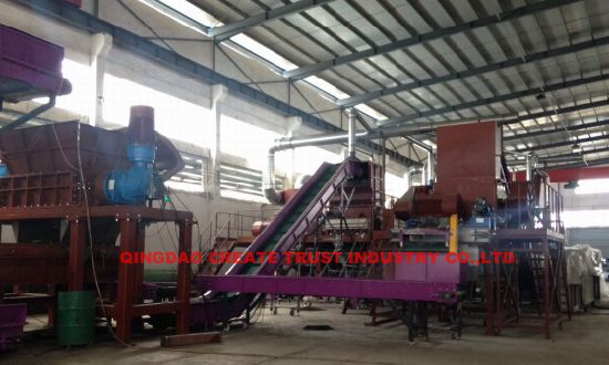 Hot Sale Waste Tyre Shredder Machine (CE / ISO9001) pictures & photos