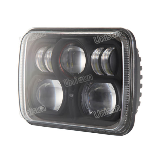 24V Rectangle 85W CREE LED High Low Beam Headlamp pictures & photos
