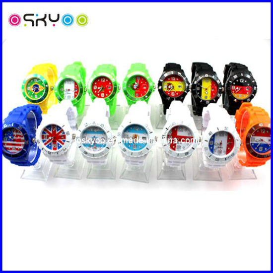 Promotion Gift Russia National Flag World Cup Watches pictures & photos