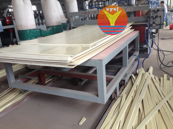 PVC Foam Board Extrusion Line for Advertisement Board pictures & photos
