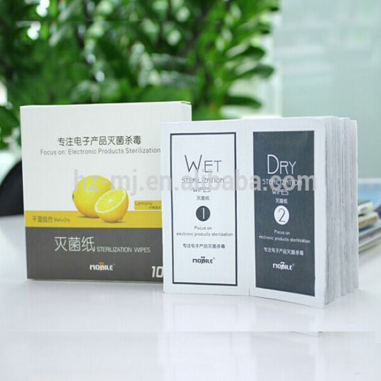 OEM Factory BV Certified Viscose Alcohol Free Promotional Lens Cleaning Wipes pictures & photos