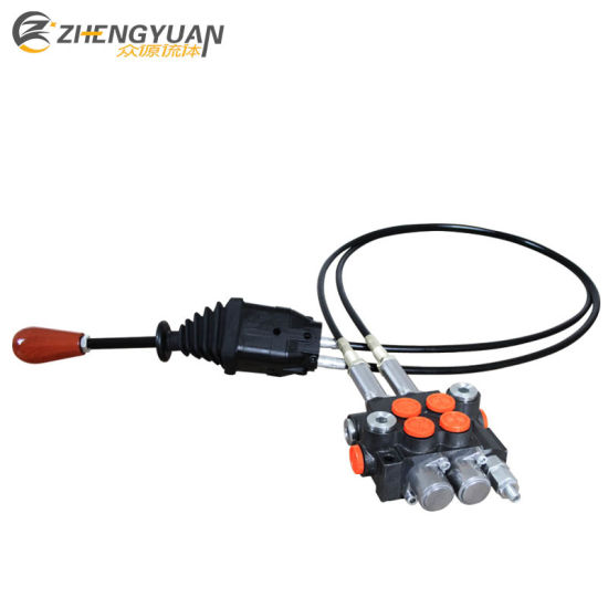 China Hydraulic Directional Control Valve with Remote Control