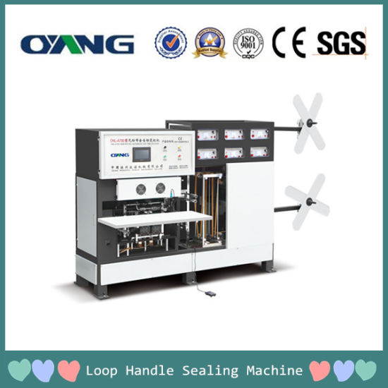 Automatic Non Woven Fabric Soft Handle Sealing Machine pictures & photos