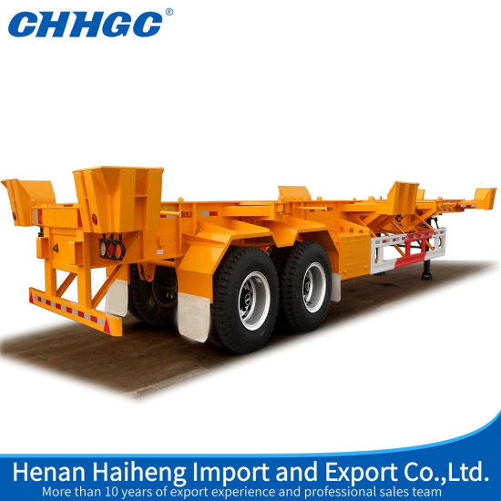 China Scientific Design Intermodal Container Chassis Frame