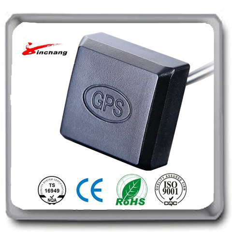 Free Sample High Quality 1575.42 MHz Car Active GPS Antenna