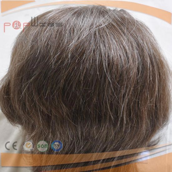 Fashion Design Poly Custom Mono Toupee (PPG-l-01355) pictures & photos