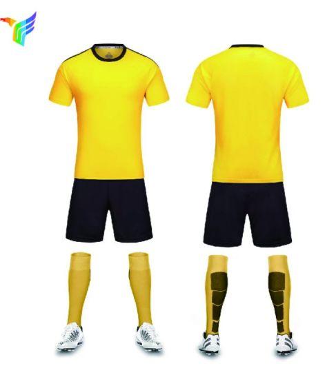f7a87790e China 100% Polyester Sublimation Printing Custom Jersey Uniform Football  Shirts