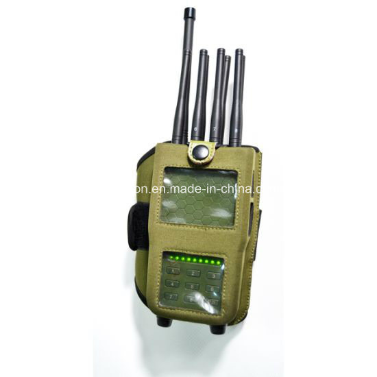 2018 New Universal Portable 8 Antennas Cellular Phone Signal Jammer GPS Jammer WiFi Jammer Lojack Jammer with Nylon Case pictures & photos