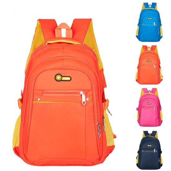 Large Capacity Colorful Costom Student Backpack, Fancy School Bag