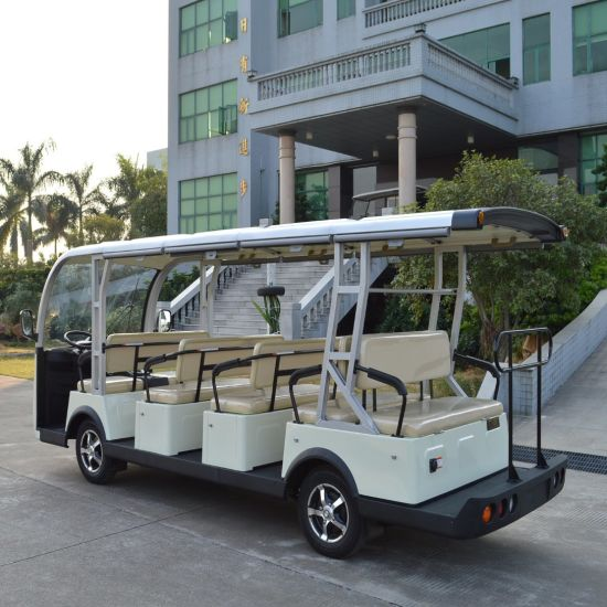 14 Passenger Sightseeing Car for Sale pictures & photos