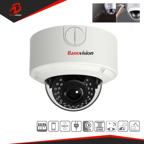 5MP CCTV Security IP Network Camera with Varifocal Lens