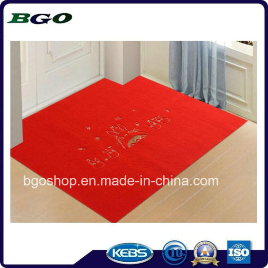 Rubber Waterproof Backed Kitchen Front Door Mat pictures & photos