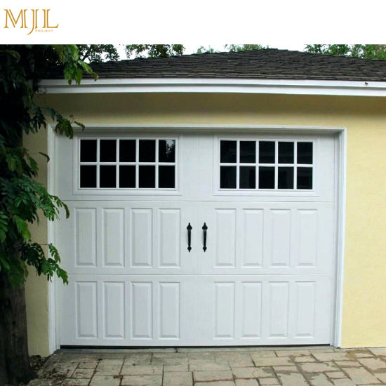 China Remote Control Sectional Glass Garage Doors Prices China