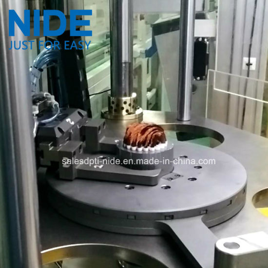 Generator Motor Three Working Station Stator Coil Winding Inserting Machine pictures & photos