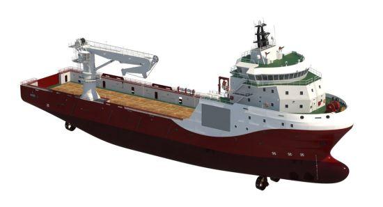China Work Boat Platform Supply Vessel - China Offshore Supply