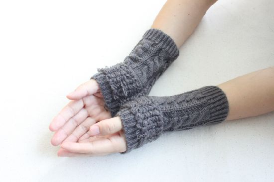 Winter Fashion Beanie Promotional Knitted Gloves