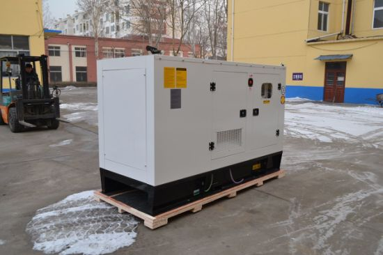 Silent Type 80kw/100kVA Diesel Generator with Perkins Engine Used for Chile Market pictures & photos