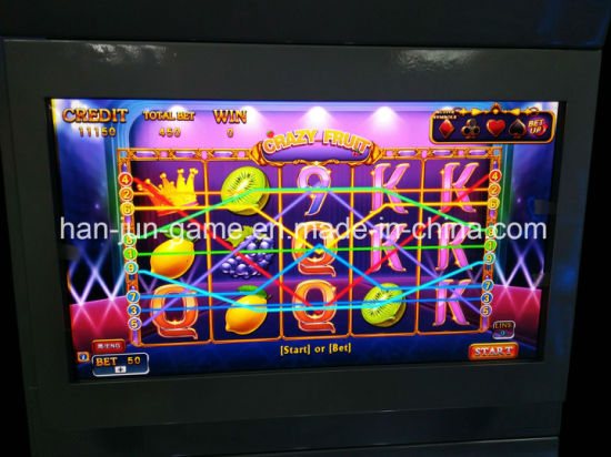 wholesale crazy fruit slot game video arcade game machines with jackpot