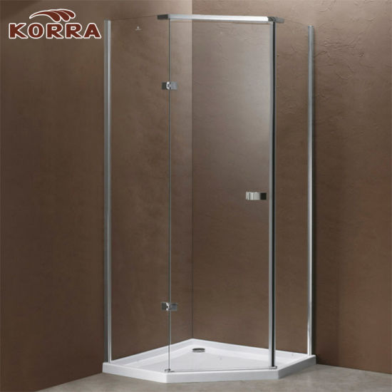 China Neo Angel Frameless Shower Enclosure with One Hinged Door (K ...