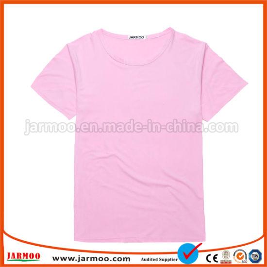299ea9f9233 China Fashionable Comfortable Logo Printed Organic Cotton T Shirt ...