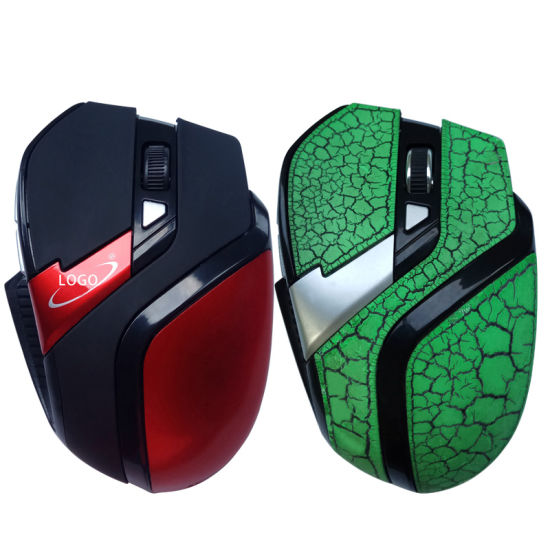 6 Buttons Ergonomic Wireless Gaming Mouse