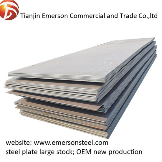 S235jr Mild Steel Plate Thick Hot Rolled Steel Plate High Strength Carbon Structural Steel Sheet
