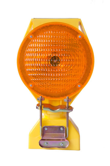 Amber PP Base 6PCS Super Bright LED Traffic Safety Light pictures & photos