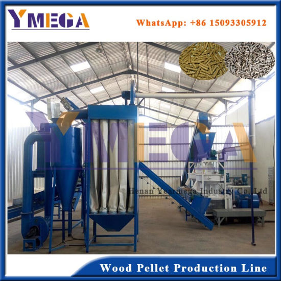 Ce Certificate Wood Sawdust Biomass Pellet Processing Line pictures & photos