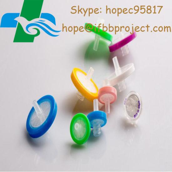 China Laboratory Medical Sterile Syringe Filter for Steroid