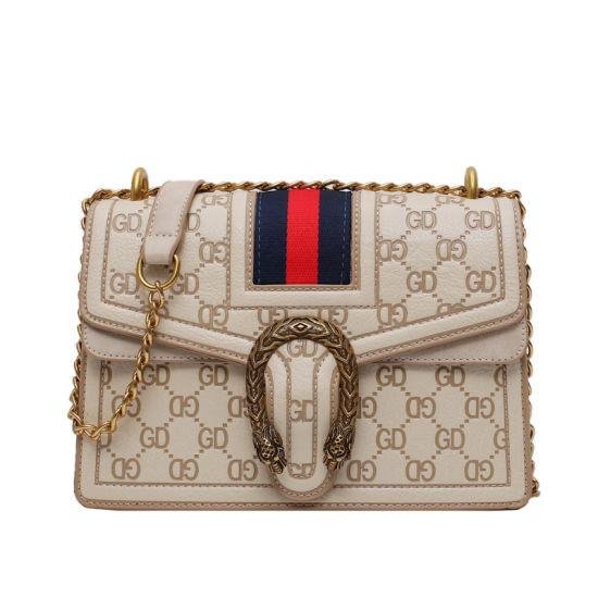 Xdd2182 Hot Selling Bevel Bag New Fashion Women's Bag Sewing Pattern Single-Shoulder Handbag