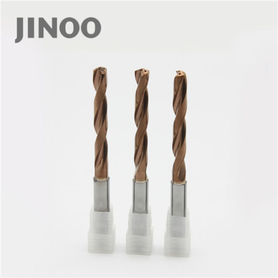 High Precision Tungsten Carbide 2 Flute Deep Hole Drill Bits pictures & photos