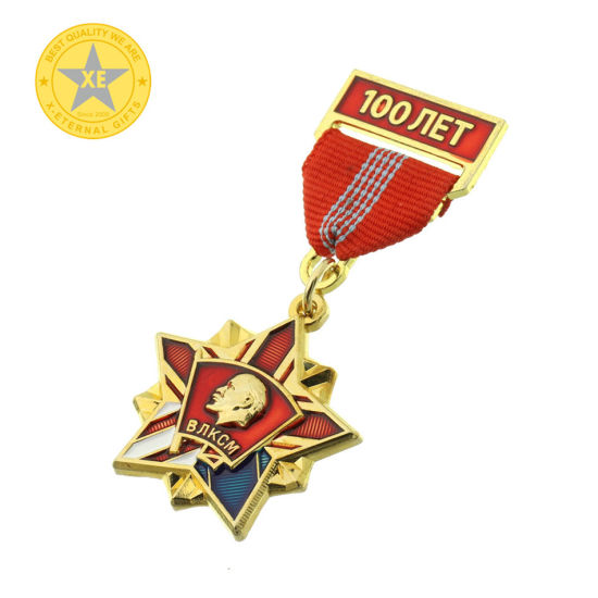 X-Eternal Gifts 2D Flat 3D Relief Hot Sale Award High Quality Military Badge Sign Medal