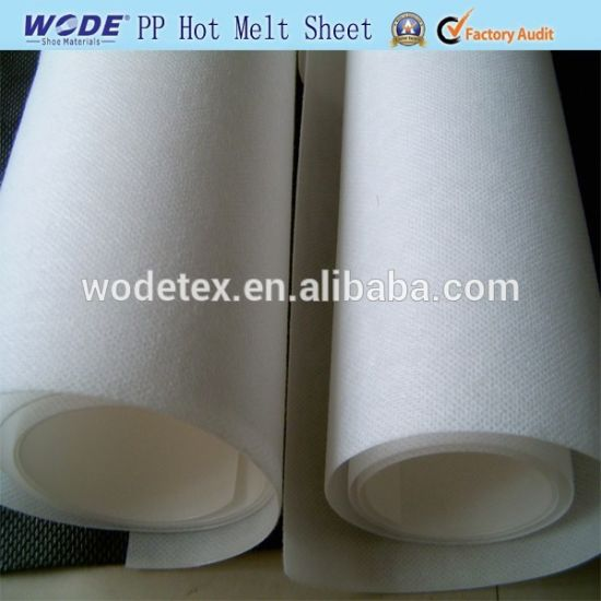 Solvent Ping Pong Hot Melt Sheet with Strong Glue for Insole Material Sheet