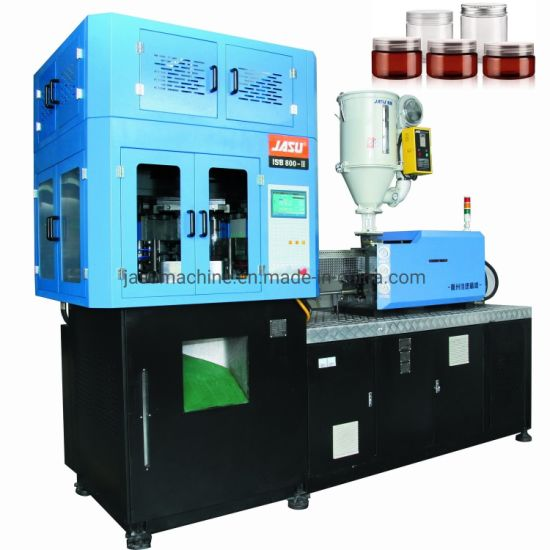 Highly Productive Plastic Bottle Jars Pet PETG Jars Blowing Moulding Full Automatic Single Stage Plasitc Injection Stretch Blow Molding Machine