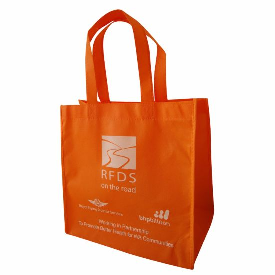 Non Woven Grocery Supermarket Shopping Recyclable Tote Bag