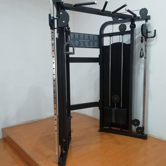 China Fitness Equipment /Commercial Use Dual Pulley System