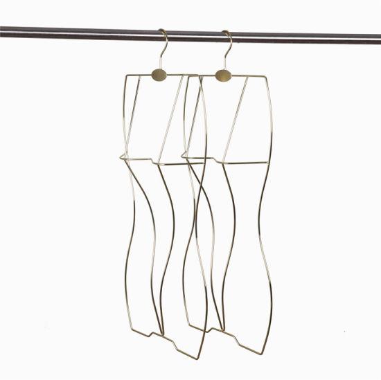 Metal Wire Body Shape Display Bikini Hanger Swimwear Hanger