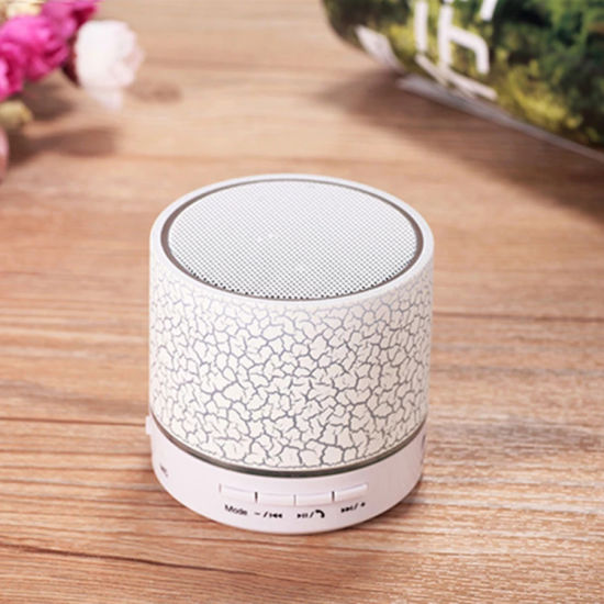 Good Promotion! Cute Wireless Remote Control Musical Glowing LED Mini Bluetooth Speaker with Sucker pictures & photos